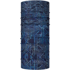 Buff Coolnet UV+ Scaldacollo tubolare Bambino, kasai night blue